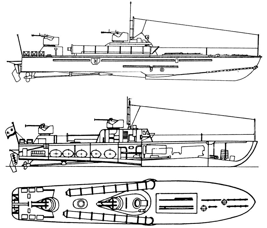 """катера типа """"Комсомолец"""" (проект 123 бис)"""