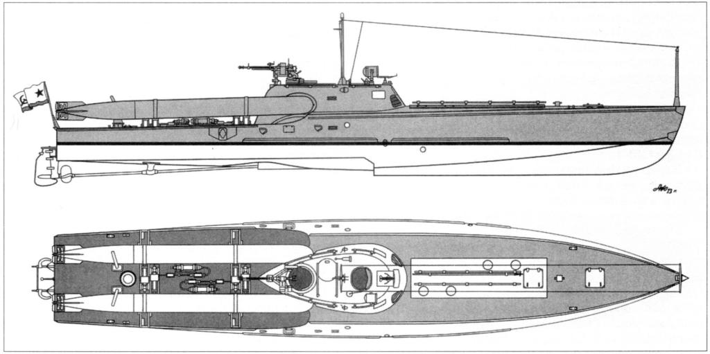 Торпедный катер проекта 123