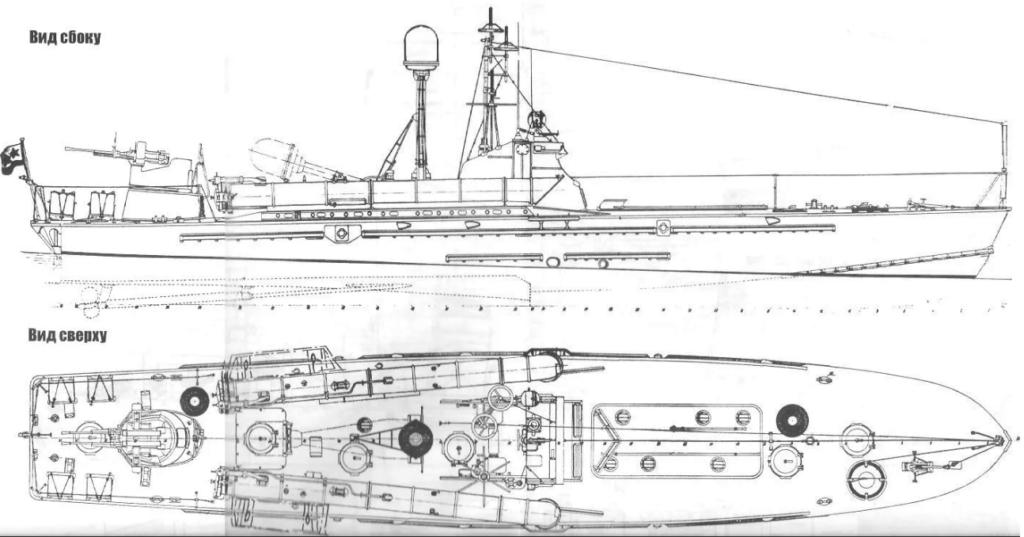 "катер тип ""Комсомолец"" проекта 123К"
