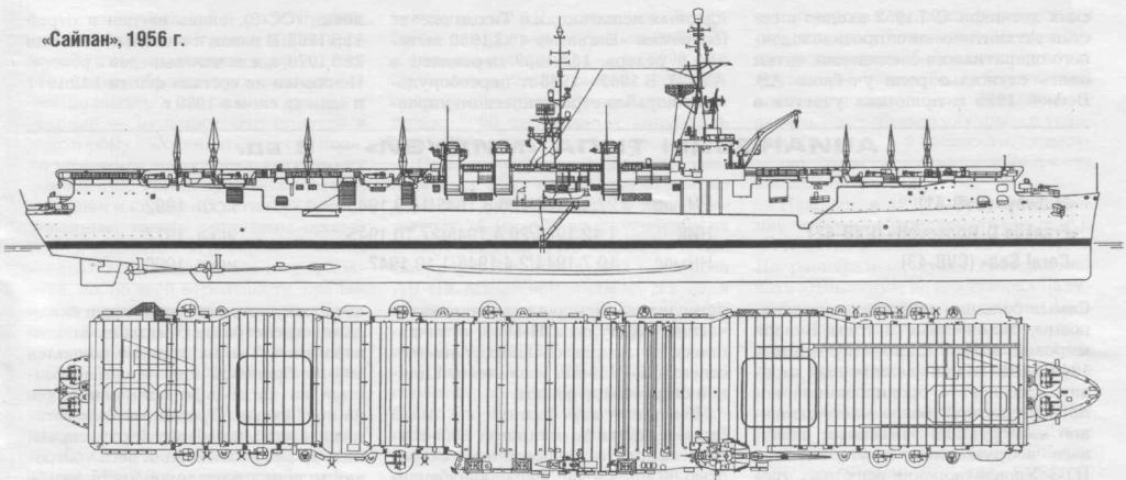 "Авианосец США типа ""Сайпан"" — USS Saipan (CVL-48)"