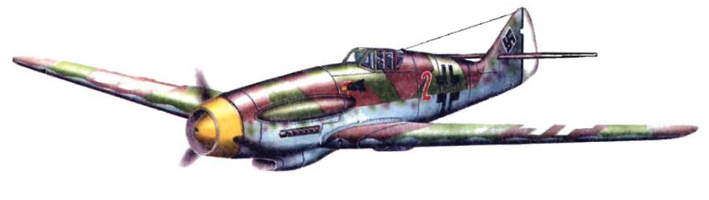 Высотный истребитель Мессершмитта — Ме.155В