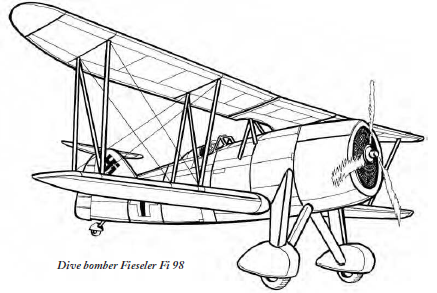 Fieseler Fi.98 — неудачный конкурент