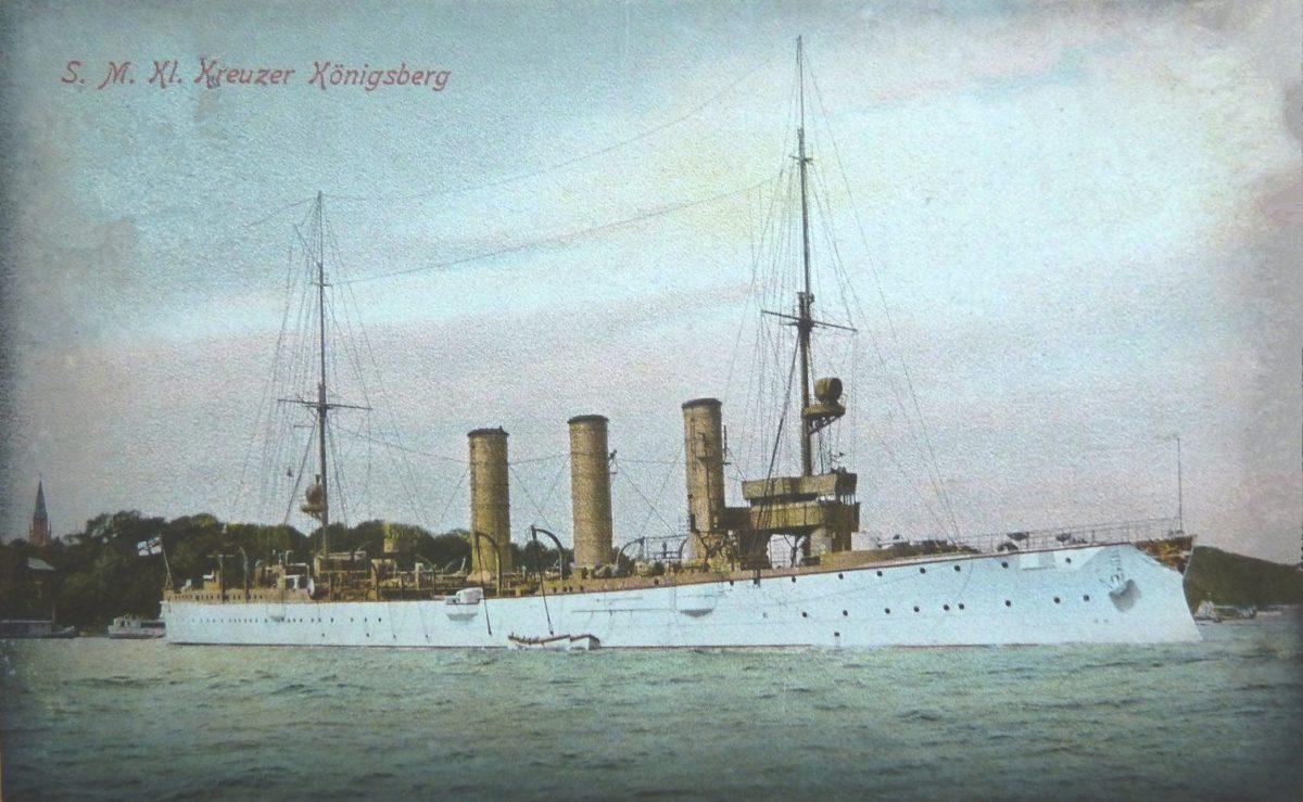 «Königsberg» — малый (бронепалубный) крейсер