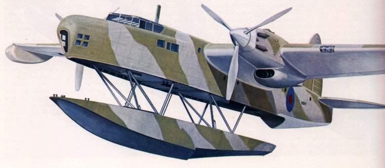 Blackburn B-20 — раскладная летающая лодка