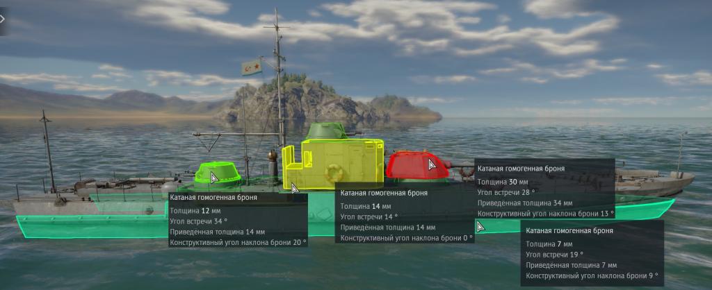Бронирование катера Проекта 191