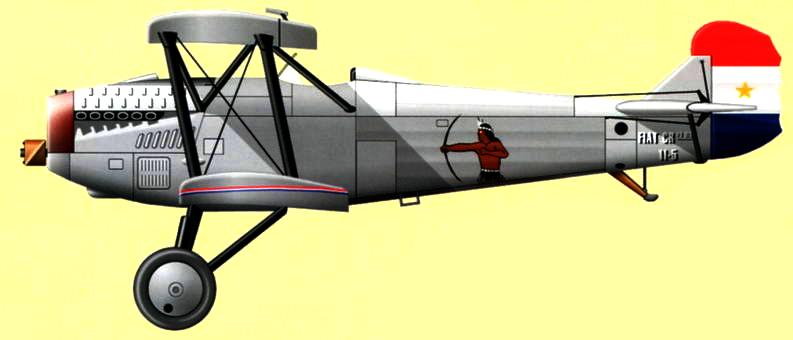 Парагвайский CR.20bis