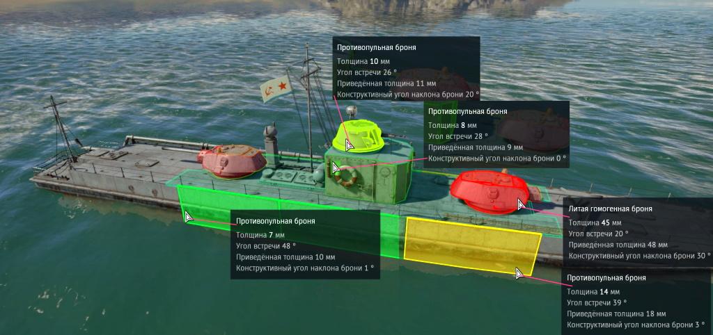 Бронирование катера Проекта 1124
