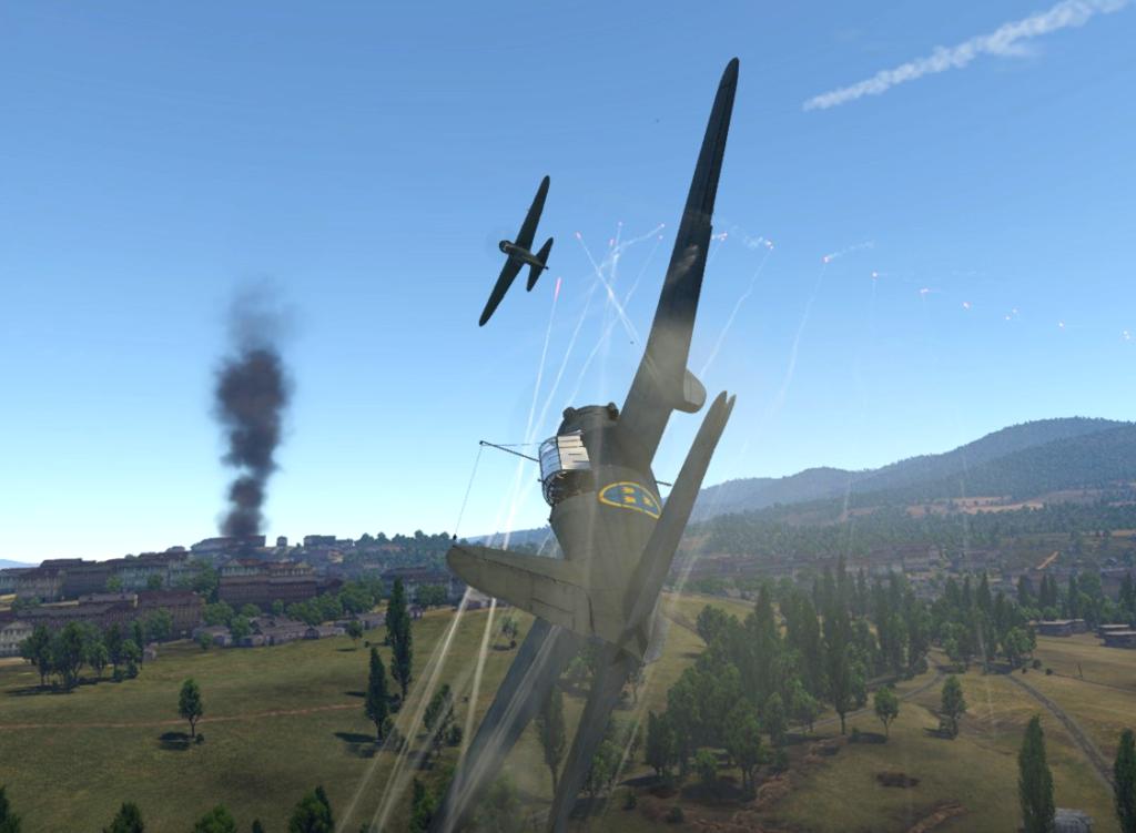 Скриншот из War Thunder.