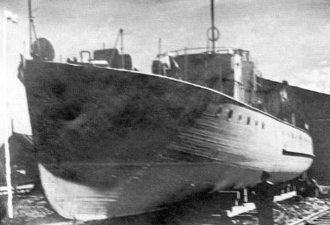 МО-4 на Сосновском ССЗ № 640