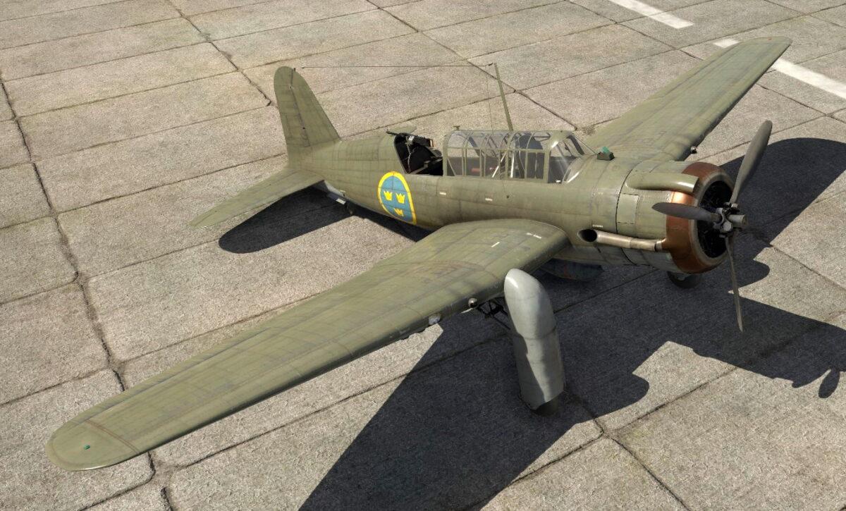 War Thunder SAAB B17B