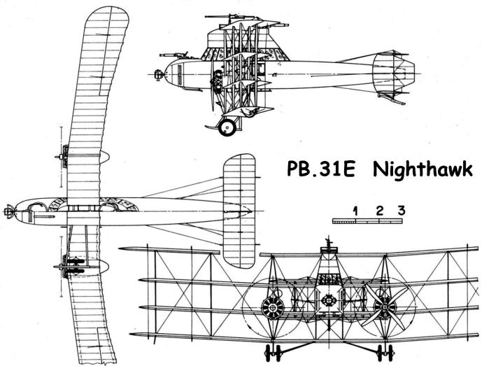 Схема PB.31E  Nighthawk
