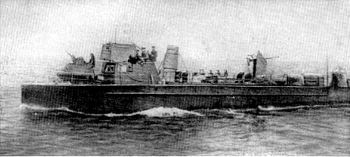 Сторожевой катер «МО-312» в годы Великой Отечественной войны