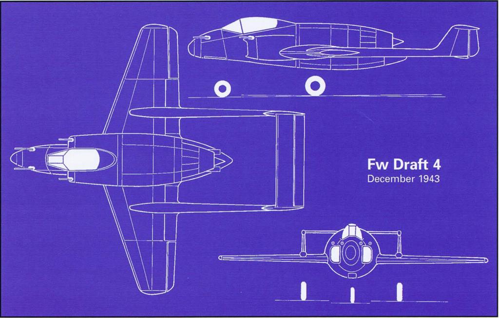 Схема Fоcke-Wulf Fw P IV