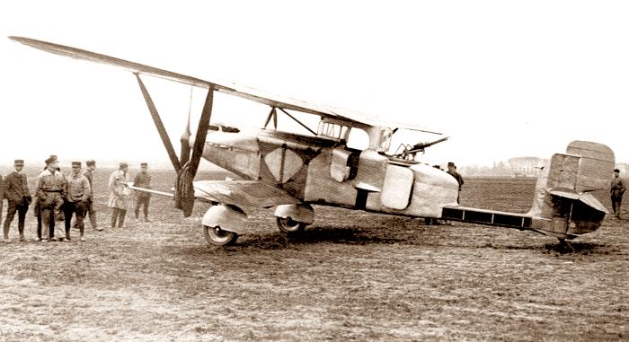 Br.270-01 готовится к первому полету