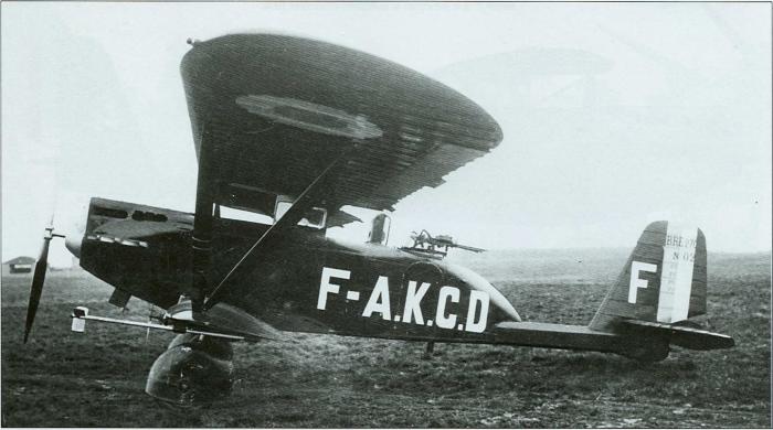 Второй прототип с гражданской регистрацией F-ACCD