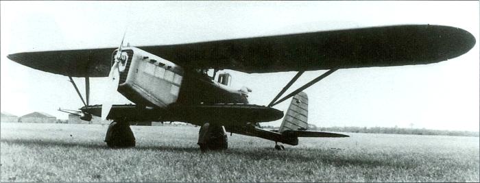 Первый самолет из серии Br.273