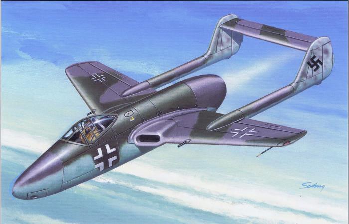 Fw 226 без дополнительного ракетного двигателя. Рисунок-реконструкция