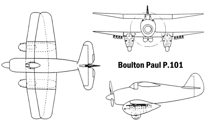 Boulton Paul P.101 — штурмовик-биплан по британски