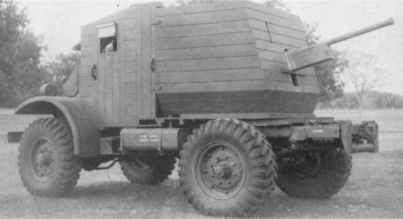 """Индийская самоходная артиллерийская установка """"Борбетт Mk-II"""" 1942 г."""