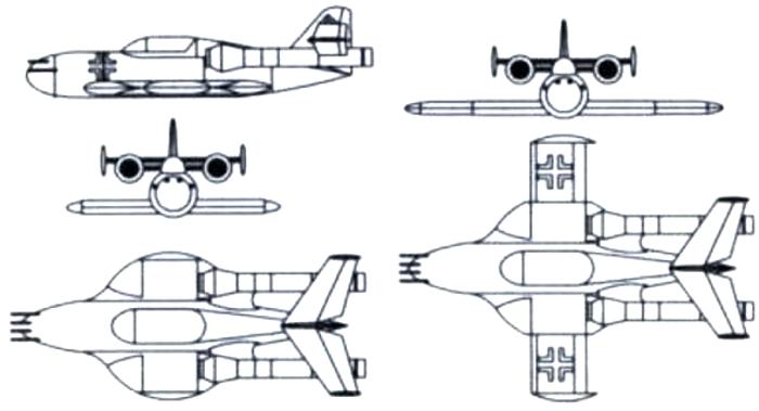 Схема Me P.1079/17
