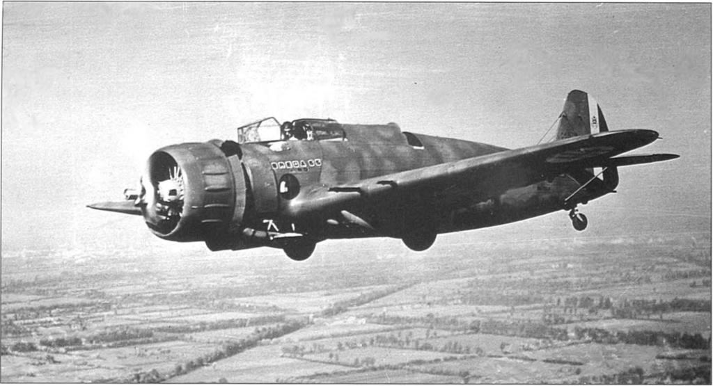 Breda Ba.65К14 в небе Ломбардии