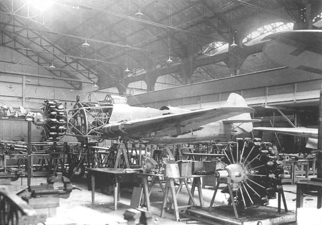 Монтаж на Breda Ва.65 мотора A80