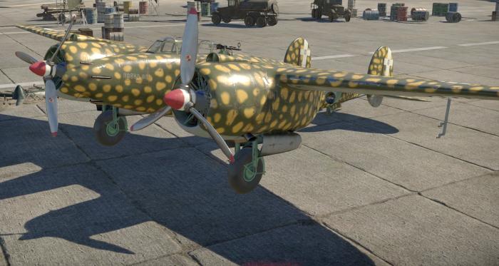 Breda Bа.88 «Lince» в War Thunder