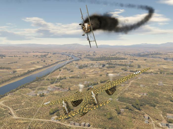 Итог атаки на Breda Bа.88 «Lince»