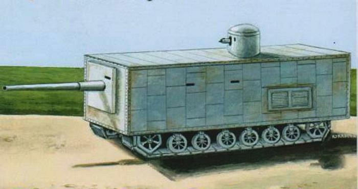 Танк Менделеева Рисунок-реконструкция