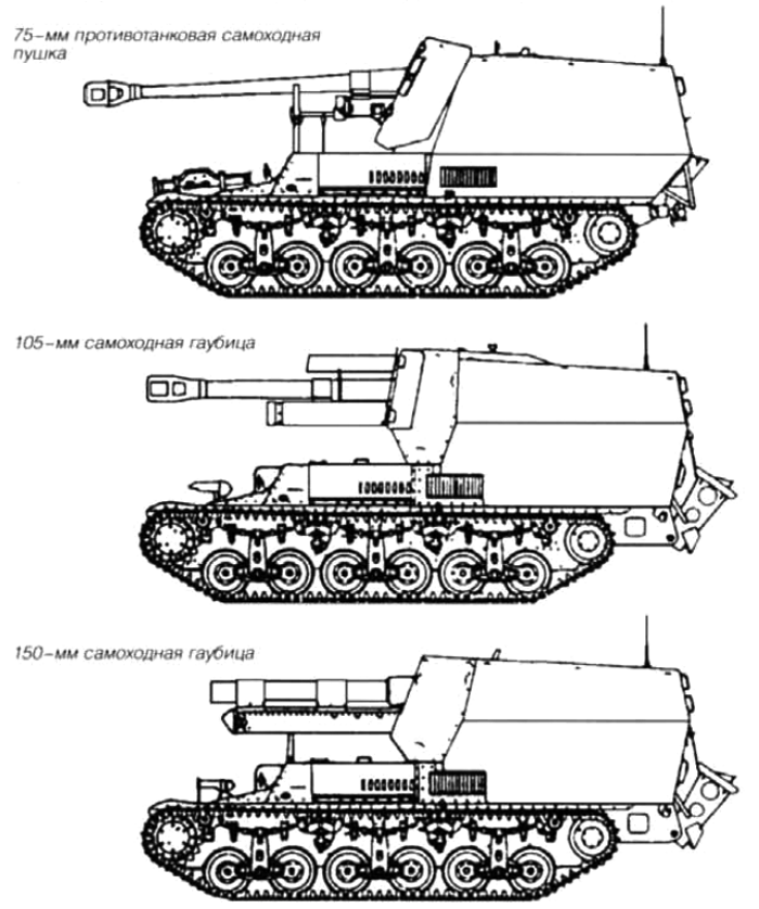 САУ на базе трофейных Lorraine 37L