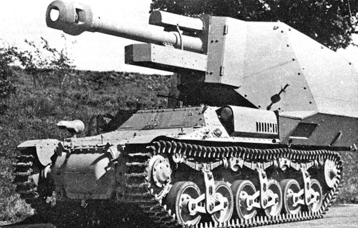 10,5-см leFH18(Sf) auf Geschützwagen Lorraine Schlepper (f)
