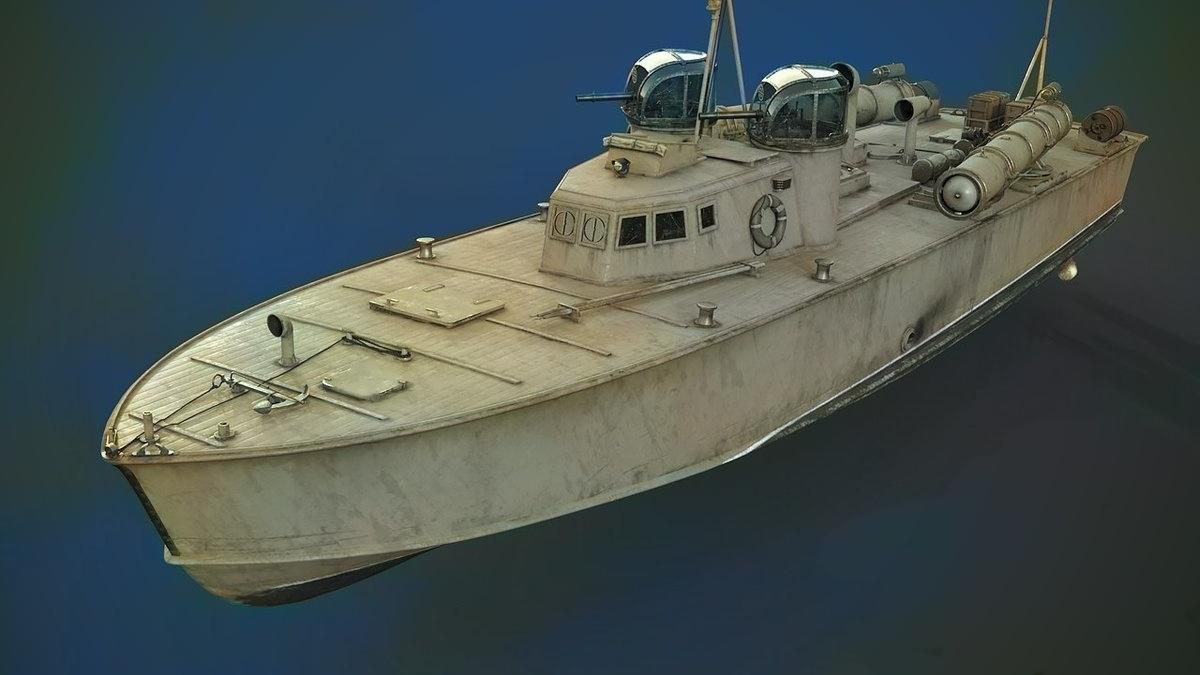 Японский торпедный катер Т-1