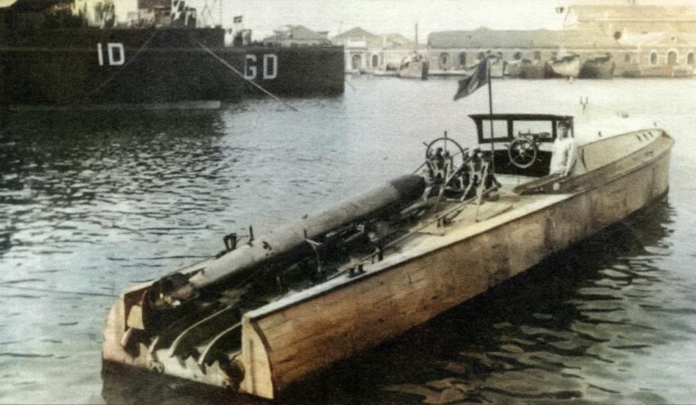 M.A.S — зарождение итальянских торпедных катеров