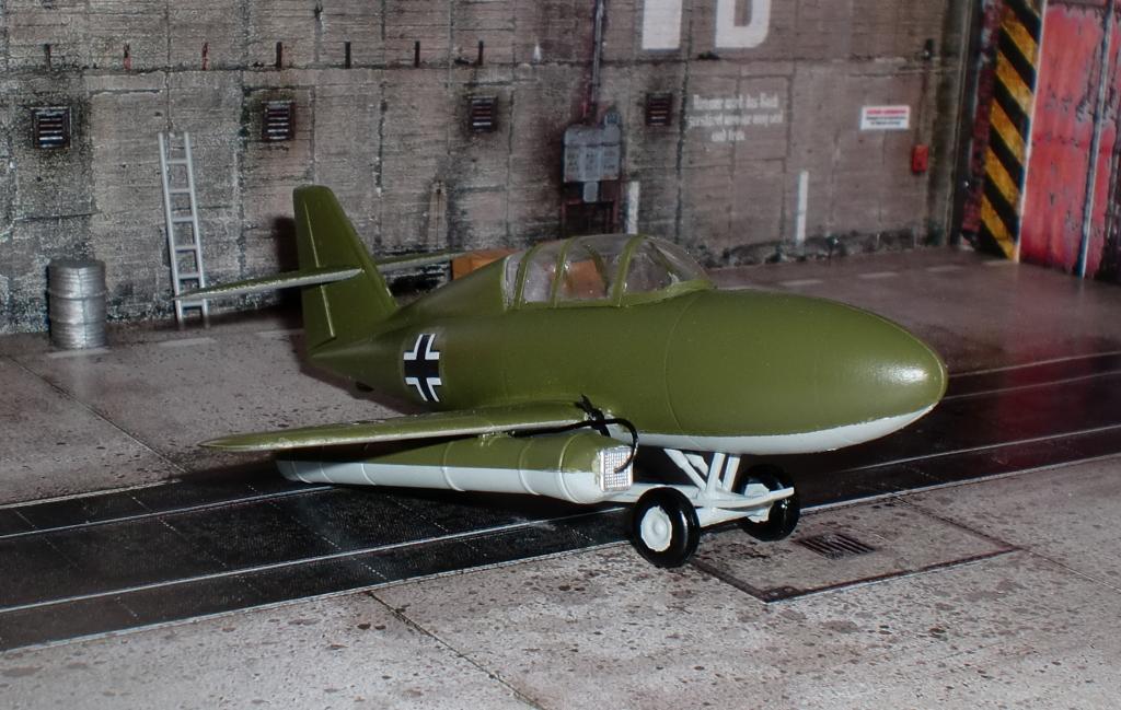 Me.328В — из «Бортового самолета» в бомбардировщик