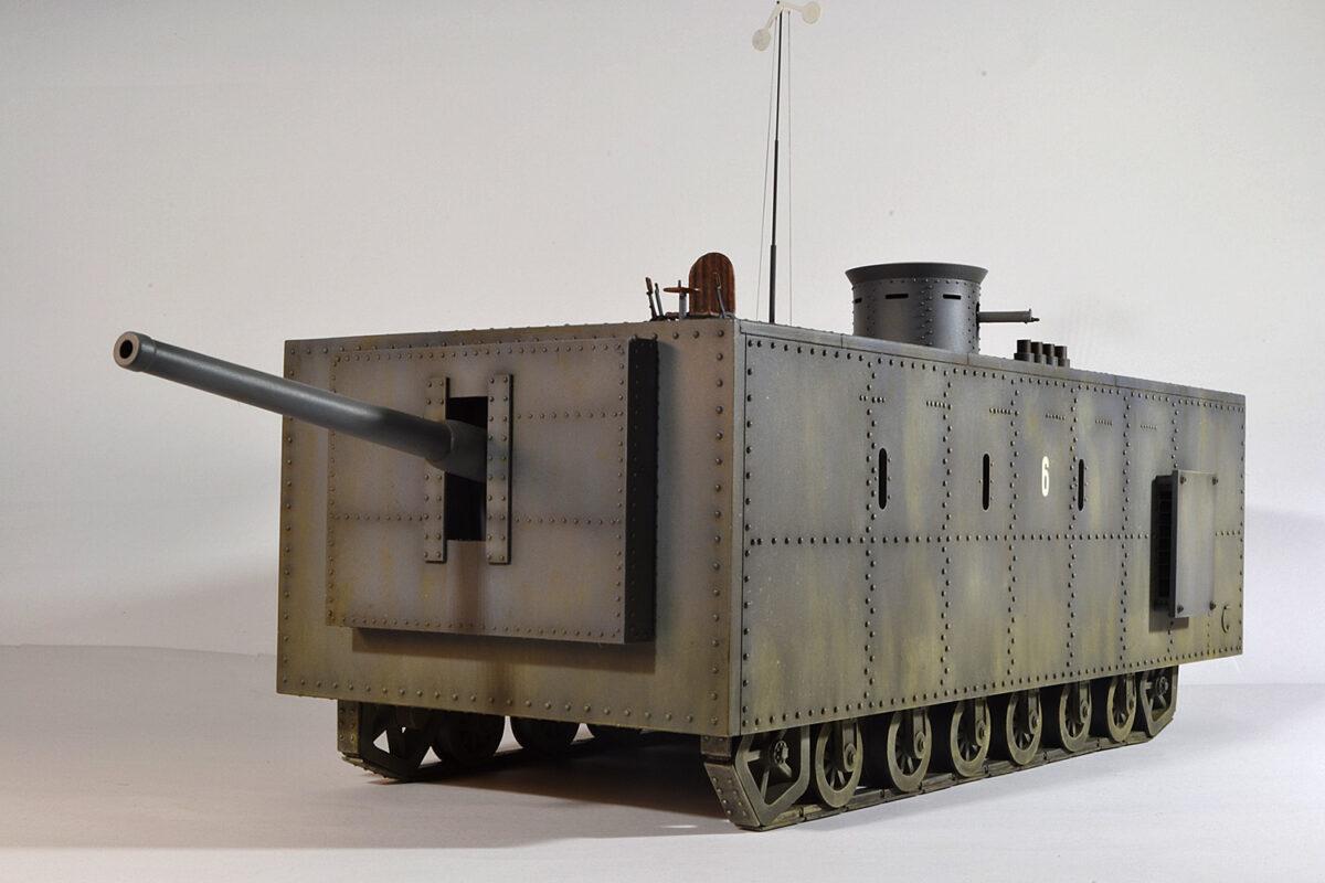 «Менделеевский монстр» или попытка создать тяжелый танк в царской России
