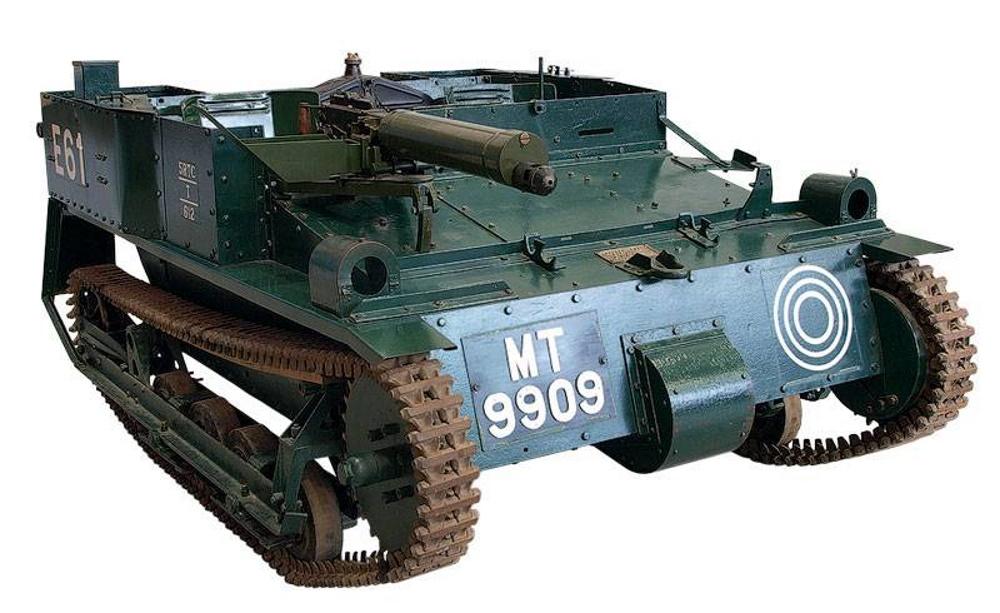 Carden-Loyd Mk.VI — родоначальница танкеток
