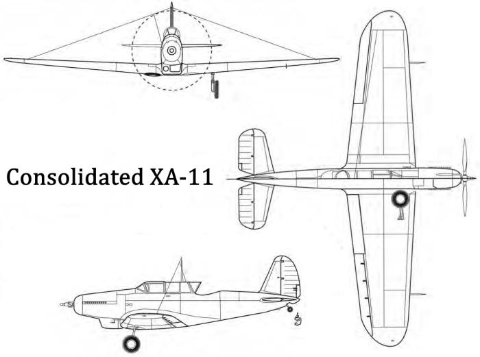 Consolidated A-11 и P-25 — одного поля ... самолеты