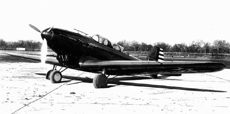 Двухместный истребитель Y1P-25