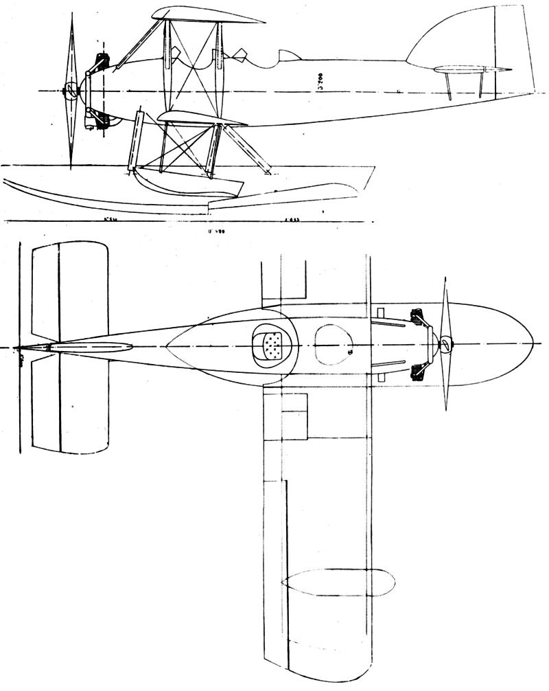 От R-2 до R-5 — невезучие гидропланы конструктора Étienne Romano