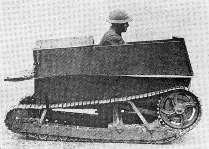 Одна из первых машин Кардена и Лойда