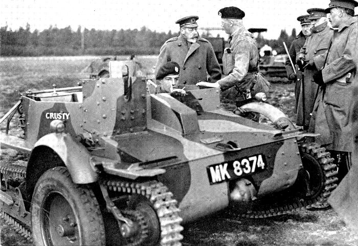 Один из восьми танкеток Carden-Loyd Мk. IV