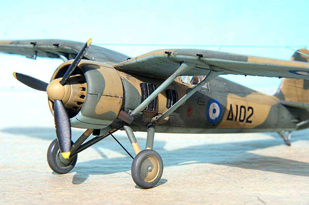 PZL P-24 — ястребок из Польши