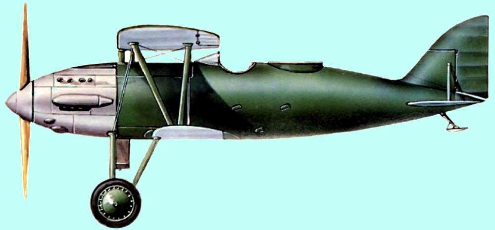 2И-Н1 — двухместный истребитель Поликарпова
