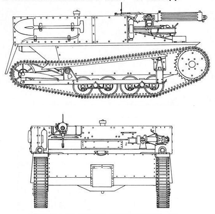 Схема Carden-Loyd Mk.VI