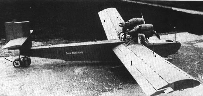 "Rohrbach Ro II во дворе завода ""Rohrbach Metal Aeroplan Co. A/S"" в Копенгагене"