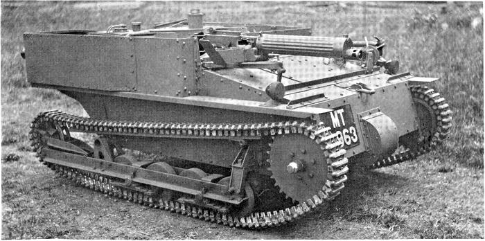 Легкий бронетранспортер Carden-Loyd Mk.VI