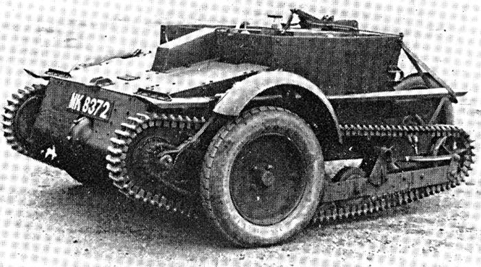 Танкетка Carden Loyd Mk.V