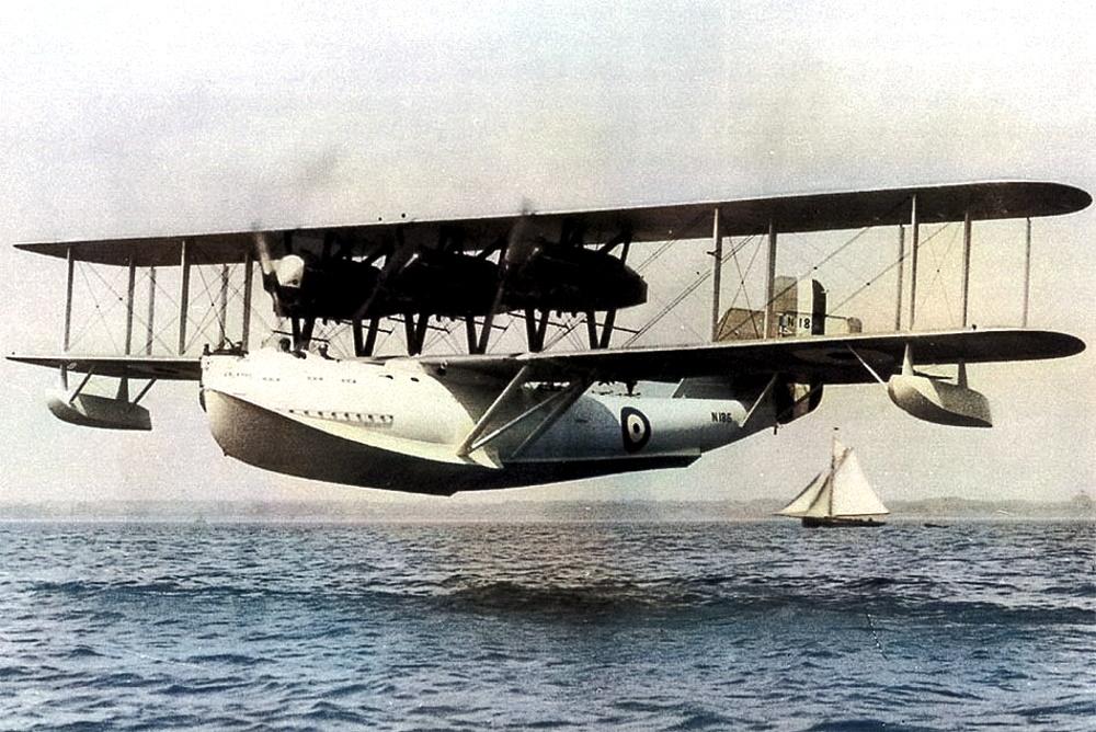 Летающая лодка Saunders A.3 — британская Валькирия