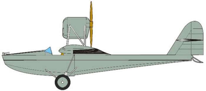 PZL.12(PZL.H) — двухместный гидроплан-амфибия из Польши