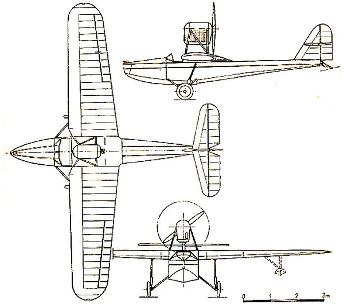 Схема PZL.12